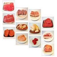 Veel gebruikte vleessoorten