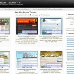Meest gebruikte WordPress Themes