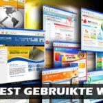 Meest gebruikte websites in Nederland