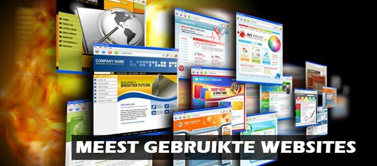 meest gebruikte websites nederland